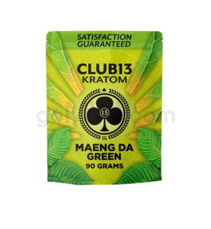 Club 13 Kratom - Maeng Da Green Powder 90g