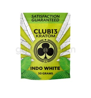 Club 13 Kratom - Indo White Powder 30g