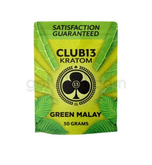 Club 13 Kratom - Green Malay Powder 30g