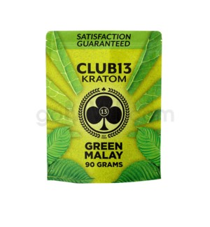 Club 13 Kratom - Green Malay Powder 90g