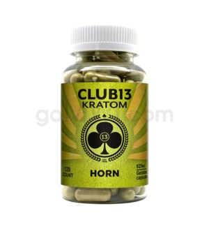 Club 13 Kratom - Horn 120CT