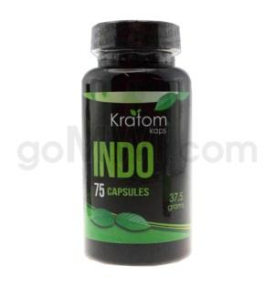 Kratom Kaps - Indo Bottle 75CT