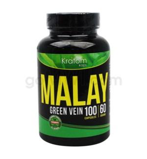 Kratom Kaps - Malay Bottle 100CT