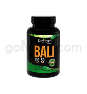 Kratom Kaps - Bali Bottle 100CT