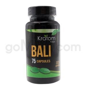 Kratom Kaps - Bali Bottle 75CT
