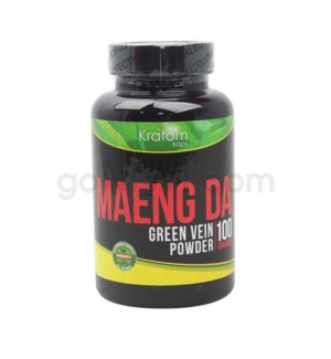 Kratom Kaps - Maeng Da Green Vein Powder 100g