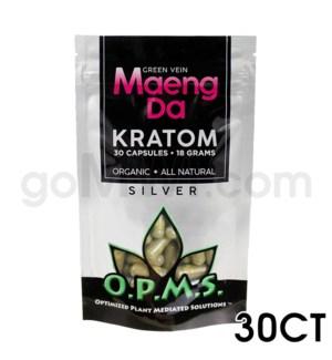 OPMS Kratom 15g Silver Maeng Da 30ct