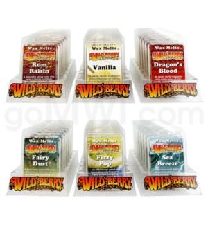 Wildberry Incense 36pc Wax Melt Starter Kit