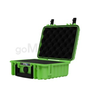 Str8 Case 10' with 2 Layer Pre-cut Foam - Nitro Green