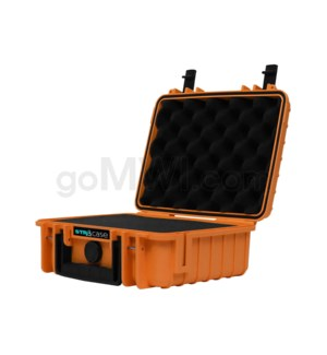 Str8 Case 10' with 2 Layer Pre-cut Foam - Tangie Orange