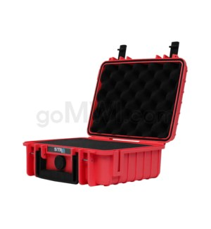 Str8 Case 10' with 2 Layer Pre-cut Foam - Fury Red