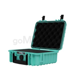 Str8 Case 10' with 2 Layer Pre-cut Foam - Str8 Teal