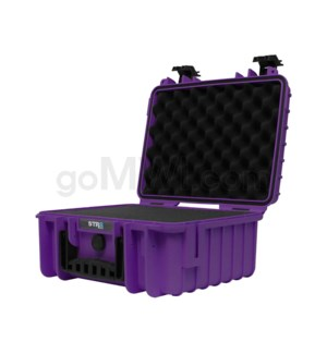 Str8 Case 13' with 3 Layer Pre-cut Foam - Wicked Purple