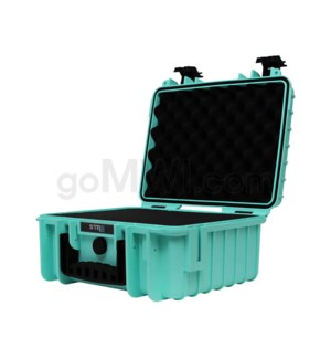 Str8 Case 13' with 3 Layer Pre-cut Foam Str8 - Teal