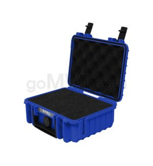 Str8 Case 8' with 2 Layer Pre-cut Foam - Cobalt Blue