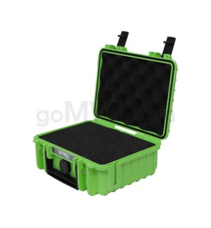 Str8 Case 8' with 2 Layer Pre-cut Foam - Nitro Green