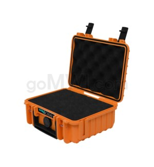Str8 Case 8' with 2 Layer Pre-cut Foam - Tangie Orange