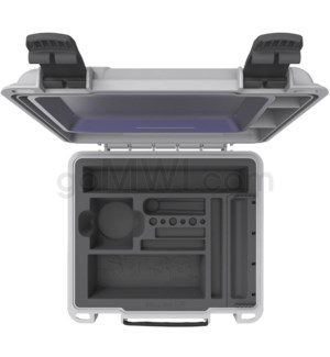 DISC Str8 Roll Kit V3 w/ Rolling Tray & Accessories - Grey