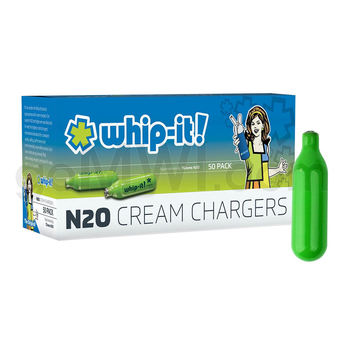 WHIP IT CREAM CHARGERS & DISPENSERS 0417