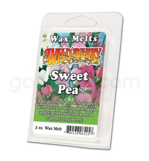 Wildberry Incense Sweet Pea Wax Melt