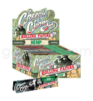 Cheech & Chong Hemp King Size Rolling Papers 50/pk 50ct/bx