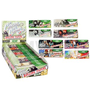 Cheech & Chong Hemp 1.25 Rolling Paper 50/pk 25ct/bx 24/cs