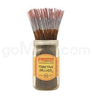Wildberry Incense Tibetan Orchid 100/ct