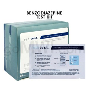 Single Panel Urine Test Strip Benzodiazepine