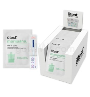 UTest 1 Panel THC 50ng/mL 25PC/BX