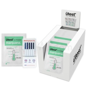 UTest O-Meter 5 Levels THC 25PC/BX