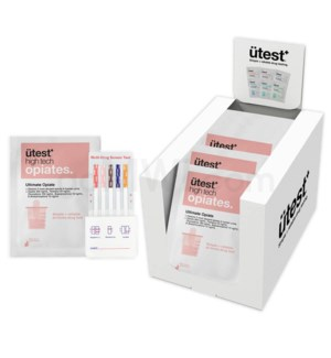 UTest Ultimate Opiate Test 25PC/BX