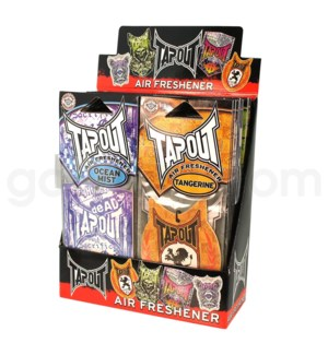 DISC  Tap Out Air freshner A - Display  36ct /bx@