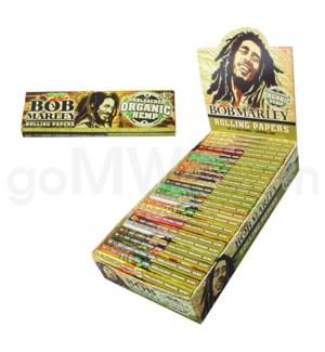 "Bob Marley Unbleached Organic Hemp 1.25""  50/pk 25ct/bx"
