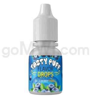 Tasty Puff Flavor Bottle 10ml Blueberry Thrill