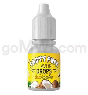 Tasty Puff Flavor Bottle 10ml Crazy Coconut