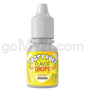 Tasty Puff Flavor Bottle 10ml Electric Banana