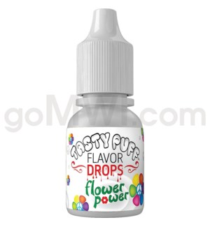 Tasty Puff Flavor Bottle 10ml Flower Power