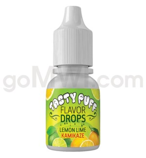 Tasty Puff Flavor Bottle 10ml Lemon Lime Kamikaze