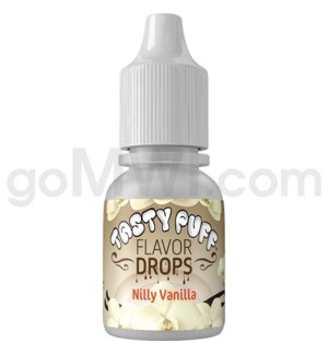 Tasty Puff Flavor Bottle 10ml Nilly Vanilla