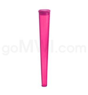 Cone Tube 112mm - Pink 200PCS/BX