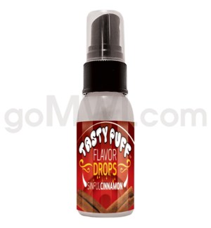 DISC Tasty Puff Spray 1oz Flavor Sinful Cinnamon