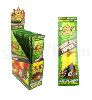 Juicy Hemp Wraps-Mango Papaya 2pk 25ct/bx