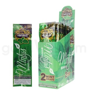 MIntys Mint Herbal Organic Wraps 2pk 25ct/bx