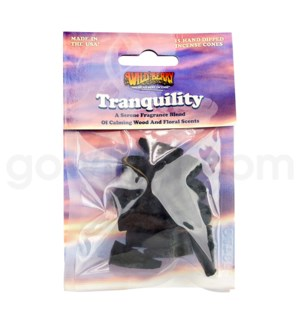 Wildberry Incense Tranquility Pre-Packed Cones 15/ct
