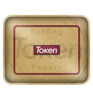 """Toke Token Brown Tray Xtra Large 50/cs 14.25""""x11.5"""""""