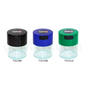 "Tight Pac - Tightvac 3.75"" Clear Bottom - Assorted Colors"