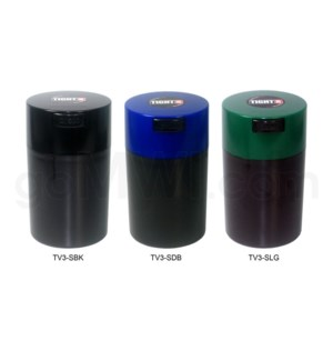 "Tight Pac - Tightvac 5.63"" Black Bottom - Assorted Colors"