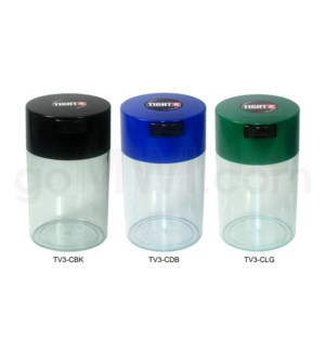 "Tight Pac - Tightvac 5.63"" Clear Bottom - Assorted Colors"