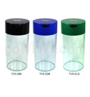 "Tight Pac - Tightvac 10.25"" Clear Bottom - Assorted Colors"
