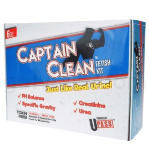 UPass Captain Clean 6oz Fetish Kit